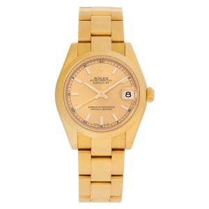 Rolex Datejust 178248 18k 31mm auto watch