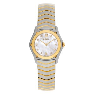 Ebel Classic 56600979 18k & steel 27mm Quartz watch