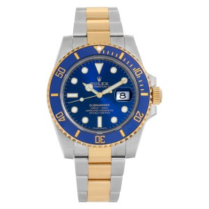 Rolex Submariner 116613LB Stainless Steel Blue dial 40mm Automatic watch