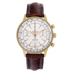 Breitling Chronomat 21702 gold plate 37mm Manual watch