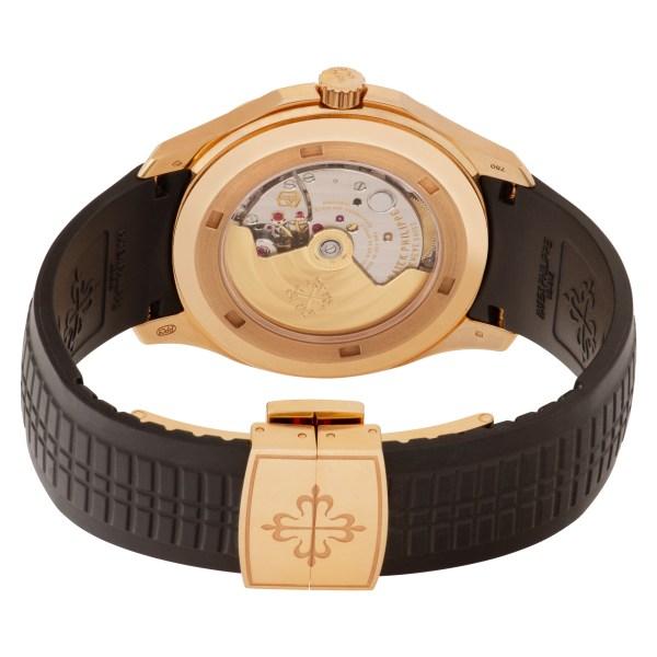 Patek Philippe Aquanaut 5167R-001 18k rose gold 40mm auto watch