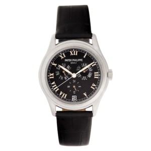 Patek Philippe Annual Calendar 5035P platinum 37mm auto watch