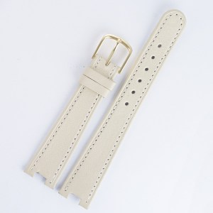 Tissot Beige Leather Strap.