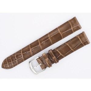 David Yurman taupe crocodile strap with buckle (15x14)