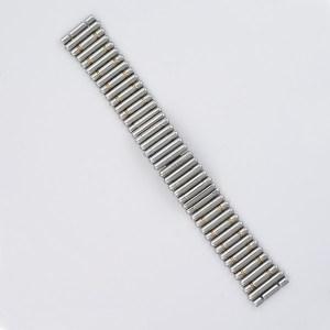 """Breitling bullet 18k & stainless steel bracelet 18mm 6"""" long"""