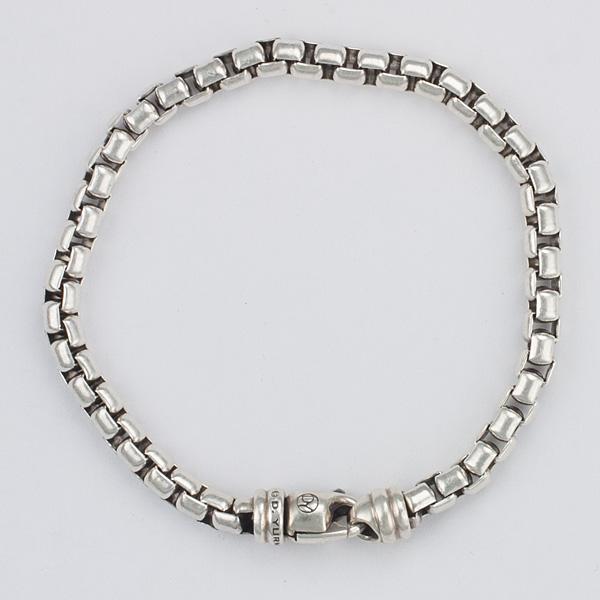 David Yurman sterling silver box bracelet