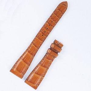 Roger Dubuis Much More M25 reg light brown alligator strap (17x12).