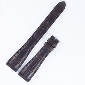 Roger Dubuis Much More M25 reg dark brown alligator strap (17x12).
