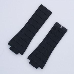Rober Dubuis Aqua Mare G41 long black rubber strap 27x21