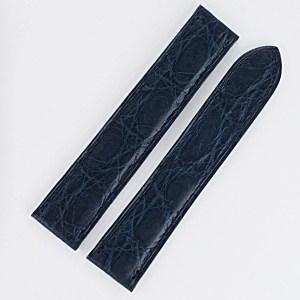 Cartier blue Alligator strap (18x16)