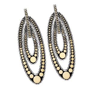 John Hardy Dot Menari drop earrings