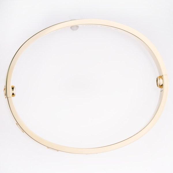 Cartier Love bracelet 18k size 16
