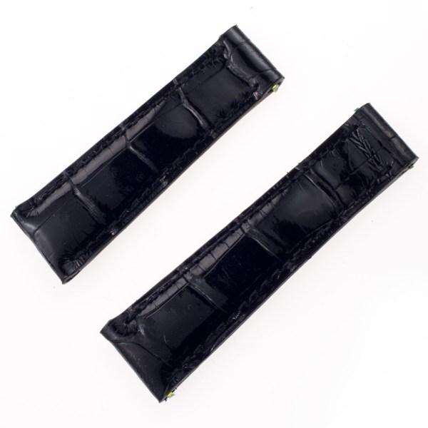 Rolex Daytona custom alligator band black (20x16)