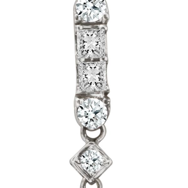 Gorgeous pear shape diamond earrings