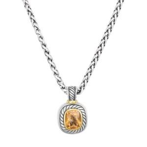 David Yurman pendant and chain