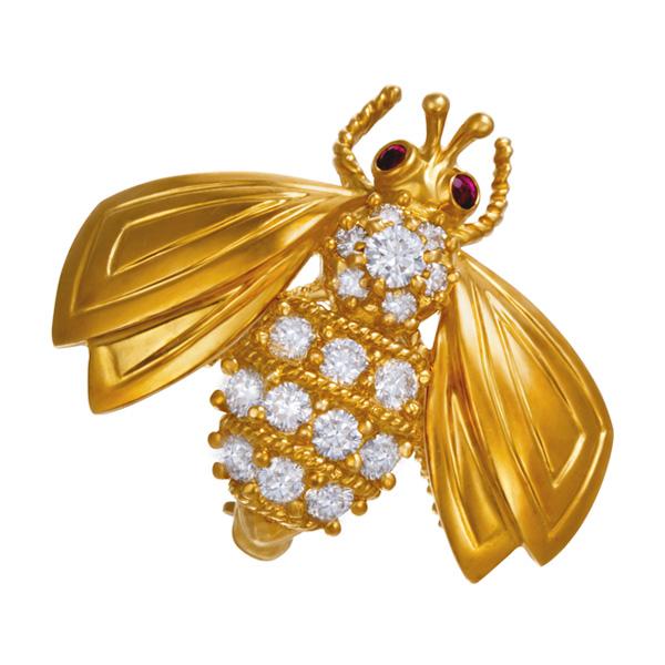 Bee pin by Tiffany & Co