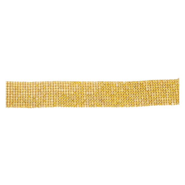 Powerful Golden Yellow Enhanced Diamond Bracelet App 60 cts