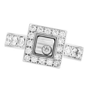 Chopard Happy Diamond Icons ring 18k white gold