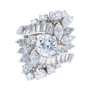Gia Certified Round Diamond 1.02 Cts (K Color  Vs-2 Clarity)