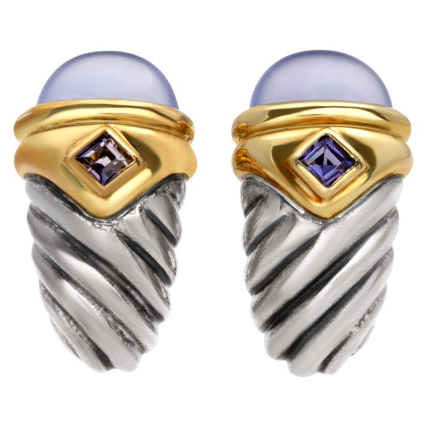 David Yurman Renaissance Shrimp earrings