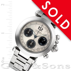 Cartier Pasha C W31048M7 stainless steel 35mm auto watch
