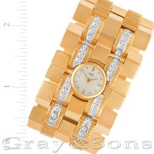 Ebel 18k rose gold mm Manual watch