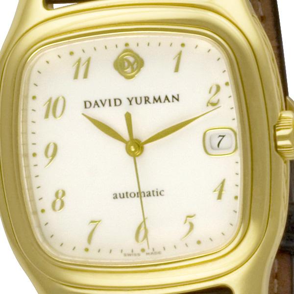 David Yurman Thoroughbred a02395 18k 35mm auto watch