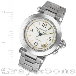 Cartier Pasha C W31015M7 stainless steel 35mm auto watch