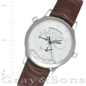 Jaeger LeCoultre Master Control 142.8.92 stainless steel 38mm auto watch