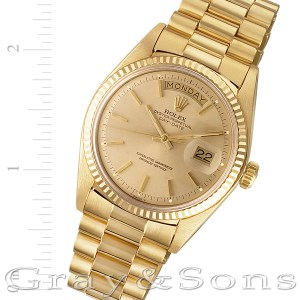Rolex Day-Date 1803 18k 36mm auto watch