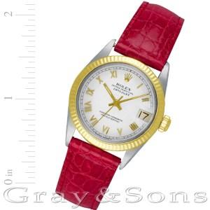 Rolex Datejust 6827 stainless steel 30mm auto watch