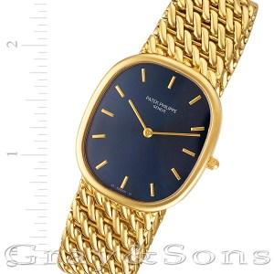 Patek Philippe Ellipse 3738 18k 31mm auto watch