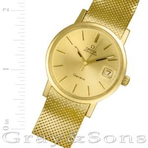 Omega Classic 18k 34mm auto watch