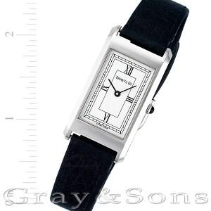 Tiffany & Co. Stainless steel 20mm Quartz watch
