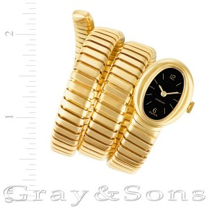 Bvlgari Serpentine g1211.4 18k yellow gold 17mm Manual watch