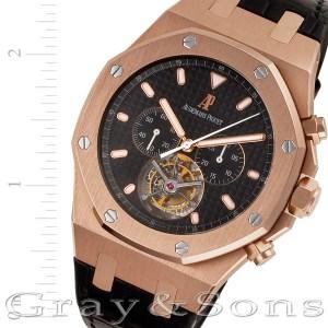 Audemars Piguet Royal Oak Tourbillon 25977or.oo.d002cr.01 18k pink gold 44mm Man
