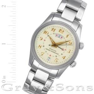 Girard Perregaux Traveller 4940 stainless steel 38mm auto watch