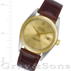 Rolex Datejust 16013 stainless steel 36mm auto watch