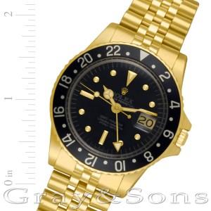 Rolex GMT-Master 1675 18k 40mm auto watch