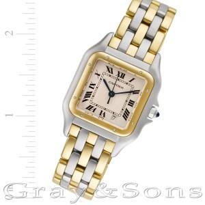 Cartier Panthere 18k & steel 27mm Quartz watch
