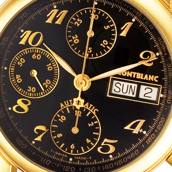 MontBlanc Meisterstuck 7001 gold fill 38mm auto watch