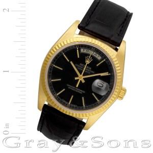 Rolex Day-Date 18038 18k 36mm auto watch