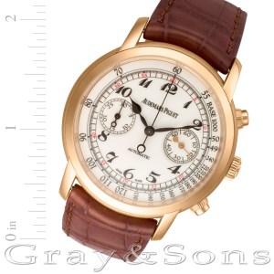 Audemars Piguet Jules Audemars 26100OR.00.D088CR.01 18k 42mm auto watch
