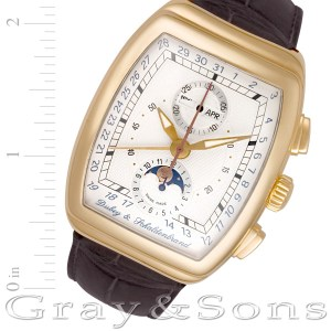 Dubey & Schaldenbrand Gran Chrono Astro 18k 40mm auto watch