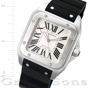 Cartier Santos 100 W20121U2 stainless steel 40mm auto watch