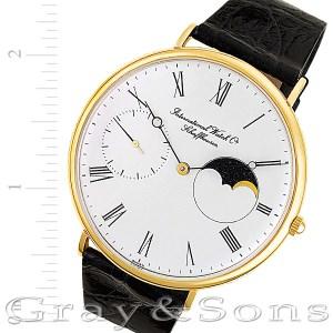 IWC Moon Phase 18k 46mm Manual watch