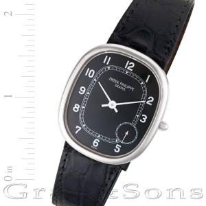 Patek Philippe Ellipse 5028G-001 18k white gold 30.5mm auto watch