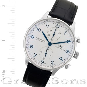 IWC Portuguese IW371446 stainless steel 41mm auto watch