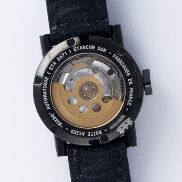 Alain Silberstein 2671 pvd 23mm auto watch