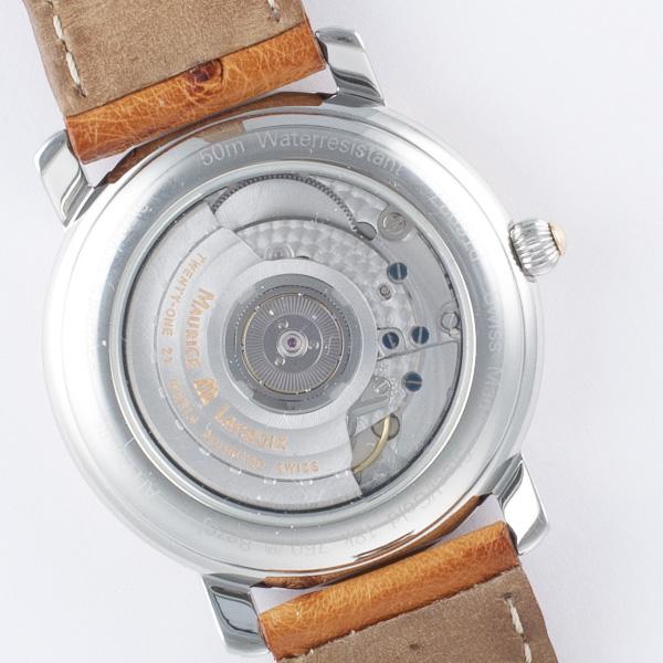Maurice Lacroix Pontos GMT PT6037 18k & steel 38mm auto watch